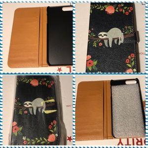 IPhone 6/7/8 Plus floral wallet case